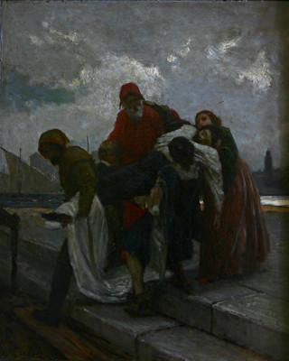 IFoscari - Domenico Morelli Olio su tavola, 1857