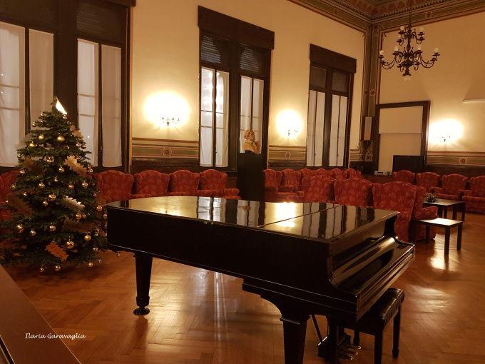 Casa Verdi - Vista parziale della sala Toscanini