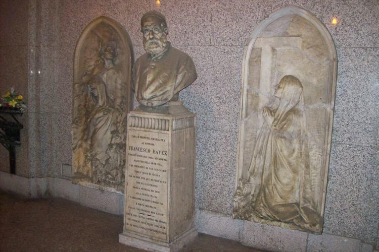 Monumento al Famedio al Monumentale di Milano