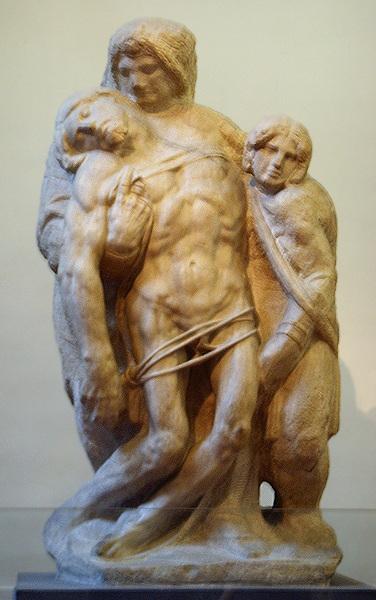 Pietà di Palestrina - (Gall. Accademia - Firenze) attribuzione incerta